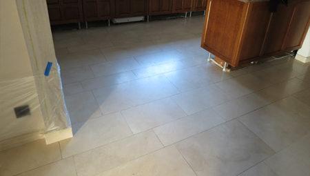 Marmeren vloer zonder glans | Natuursteen-renovatie.be
