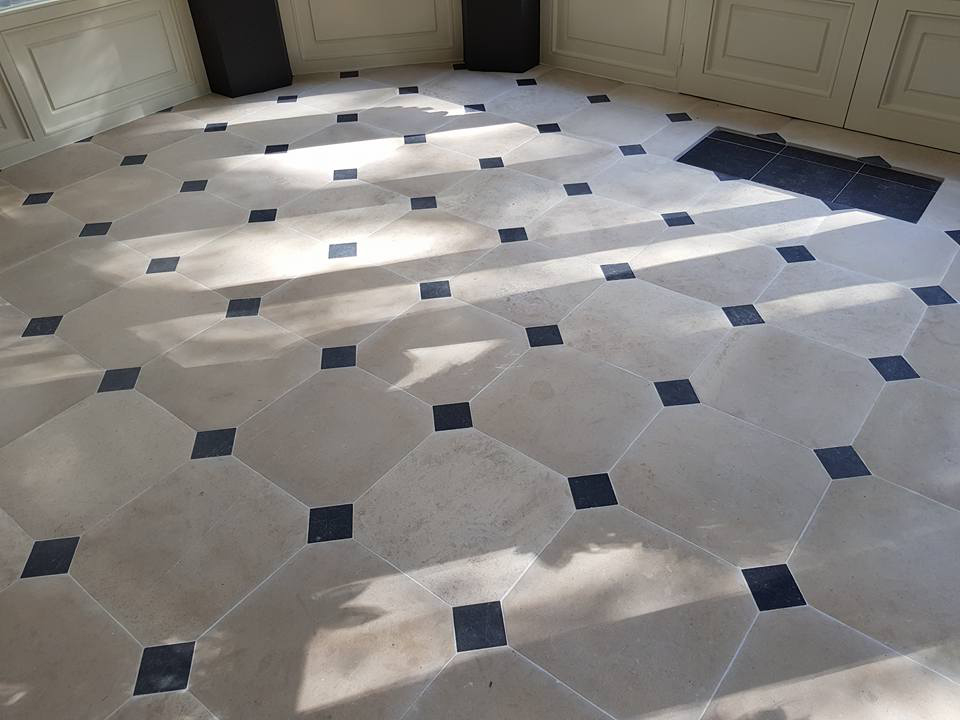 zandsteen vloer voor renovatie