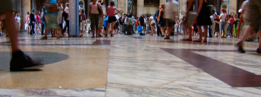 Marmervloer openbare ruimte