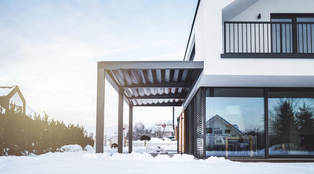 Moet u uw terras beschermen tegen de winterkou?