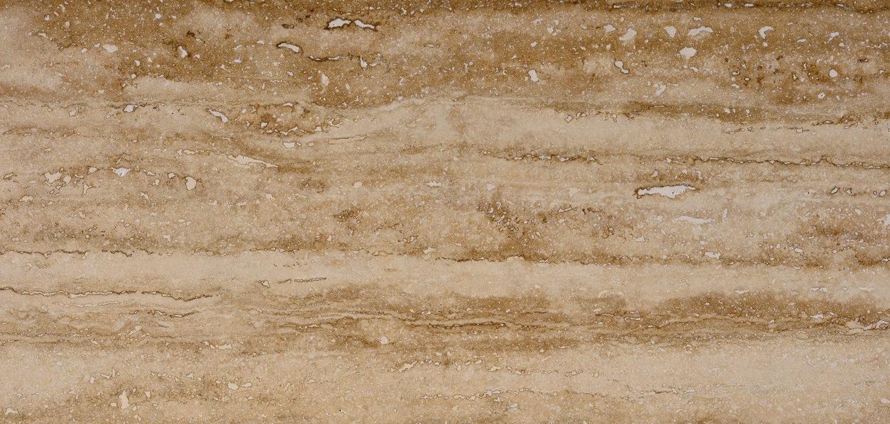 Bruine travertin | Natuursteen-renovatie.be