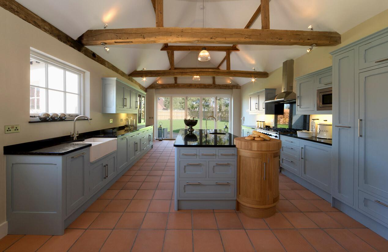 keuken terracotta
